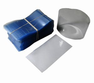 Clear Heat Shrink Bands for Containers with 48mm Finish Shrink band sold by Fillmore Container Inc