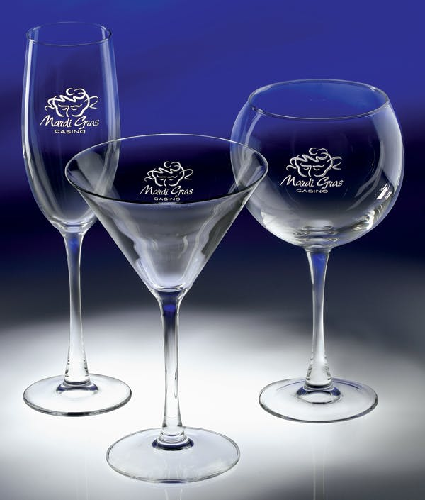 #3042 Martini, #3043 Flute, #3044 Wine Wine glass sold by Engraving Creations and More, Inc.