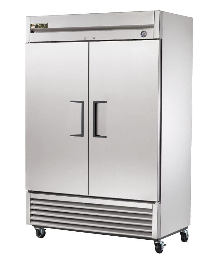 2 Solid Door Upright Reach-In Refrigerator Commercial refrigerator sold by ChefsFirst