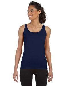 G642L Gildan Softstyle® Ladies' 4.5 oz. Junior Fit Tank Promotional shirt sold by Lee Marketing Group