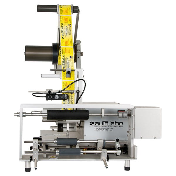 550 Semi-Automatic Round Product Label Applicator Bottle labeler sold by MSM Packaging Solutions