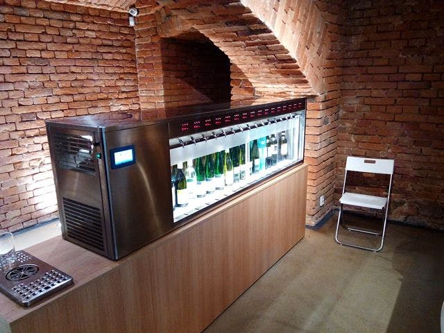 Double Sided Systems Wine pub system sold by By The Glass