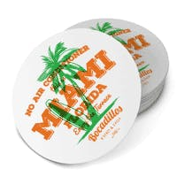 Design Coasters 17 Pt. Drink coaster sold by Disposable Coasters