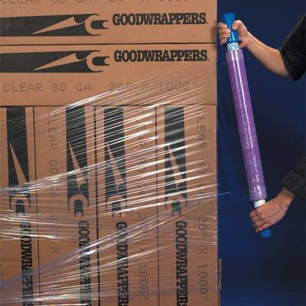 Goodwrappers Premium Stretch Film Wrap Stretch wrap sold by Ameripak, Inc.
