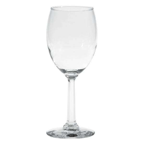 Napa Valley Optic Goblet Wine glass sold by MicrobrewMarketing.com