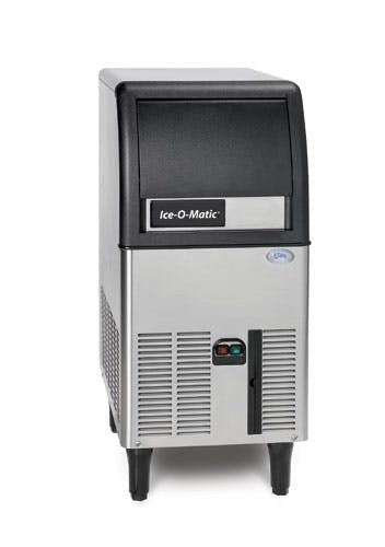 Ice Maker w/Bin, cube-style approximately 84 lb production/24 hours, 27 lb. built-in bin Ice machine sold by TheRDStore.com