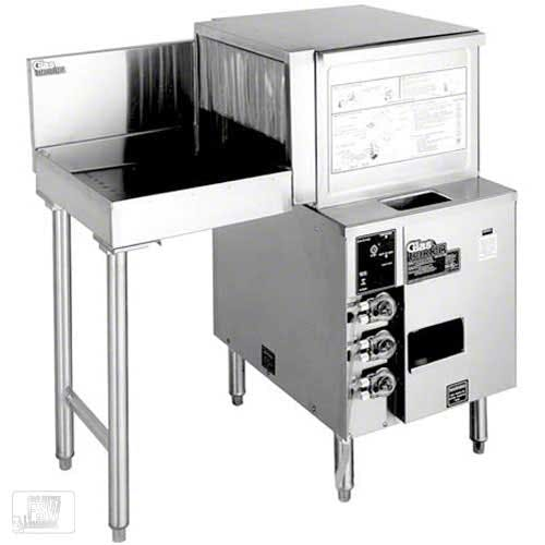 Glastender - GT-18+1L 600 Glass/Hr Pass-Through Rotary Rack Glasswasher Commercial dishwasher sold by Food Service Warehouse