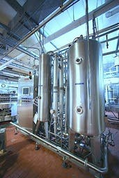 Sidel - Alsim High Speed Soft Drink Blending System, Year 2001  Blender sold by Beverage Industries