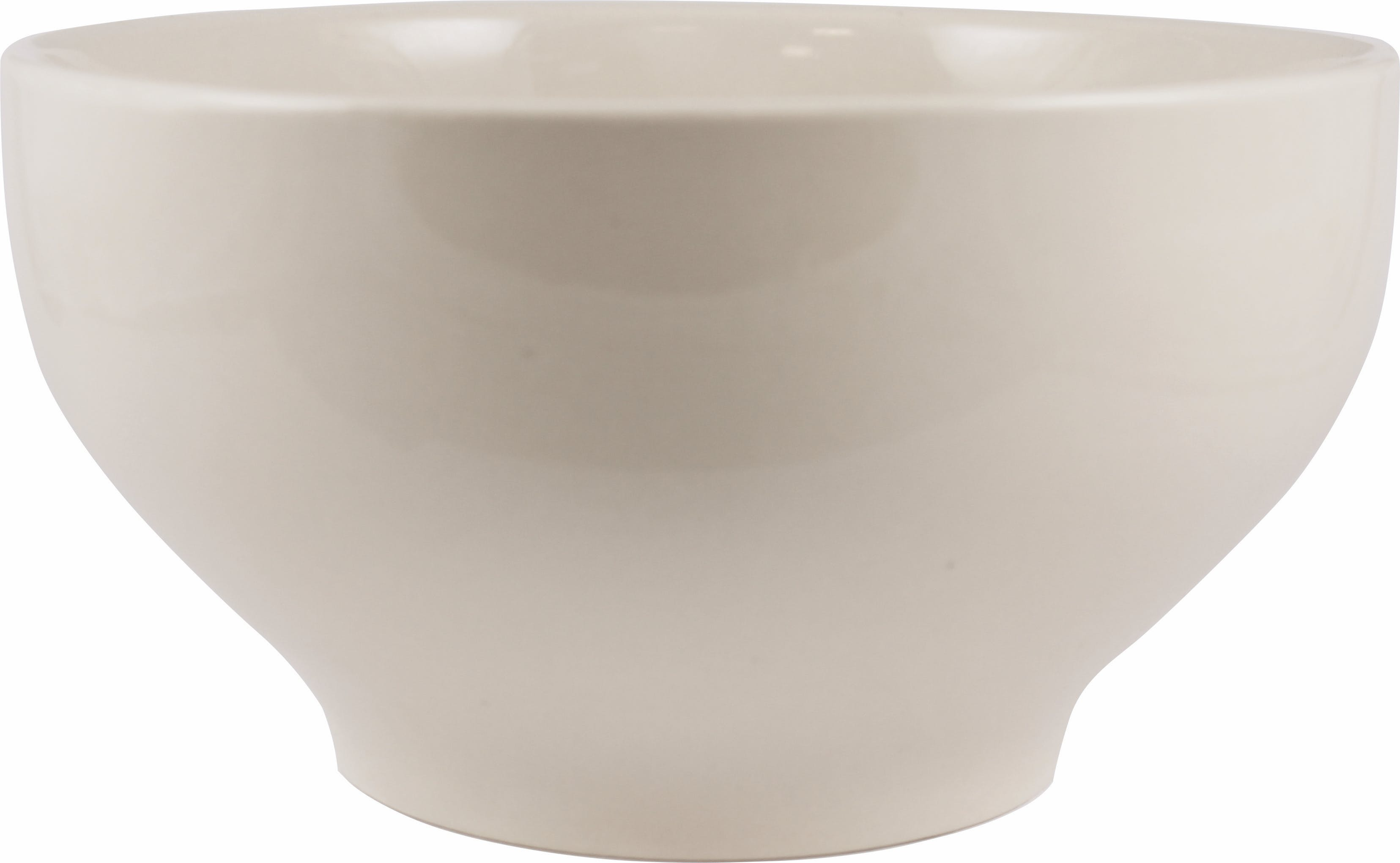 40 oz. American White Roma Round Footed Bowl Plate sold by Prestige Glassware