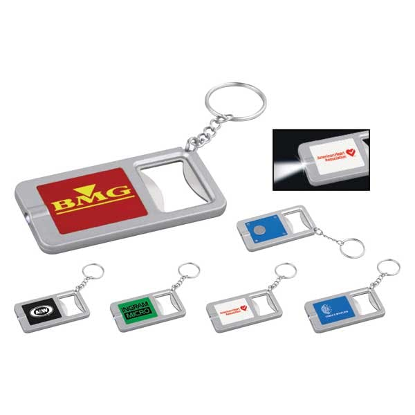 LED Key-Light / Bottle Opener Bottle opener sold by MicrobrewMarketing.com