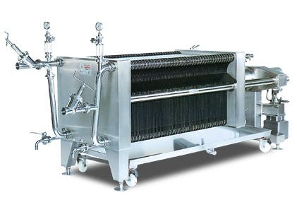 ITALfilters PFM 100 BEER filtration Brewing filtration sold by Prospero Equipment Corp.