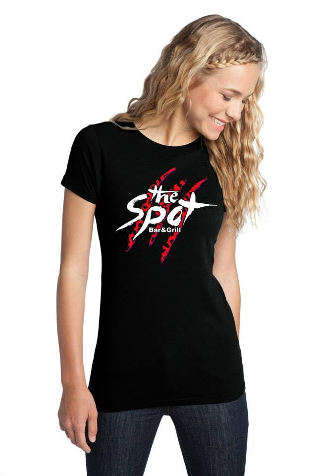 Promotional Apparel Promotional apparel sold by Squeegee & Ink T shirt and Logo design (Triton Print and Pour)