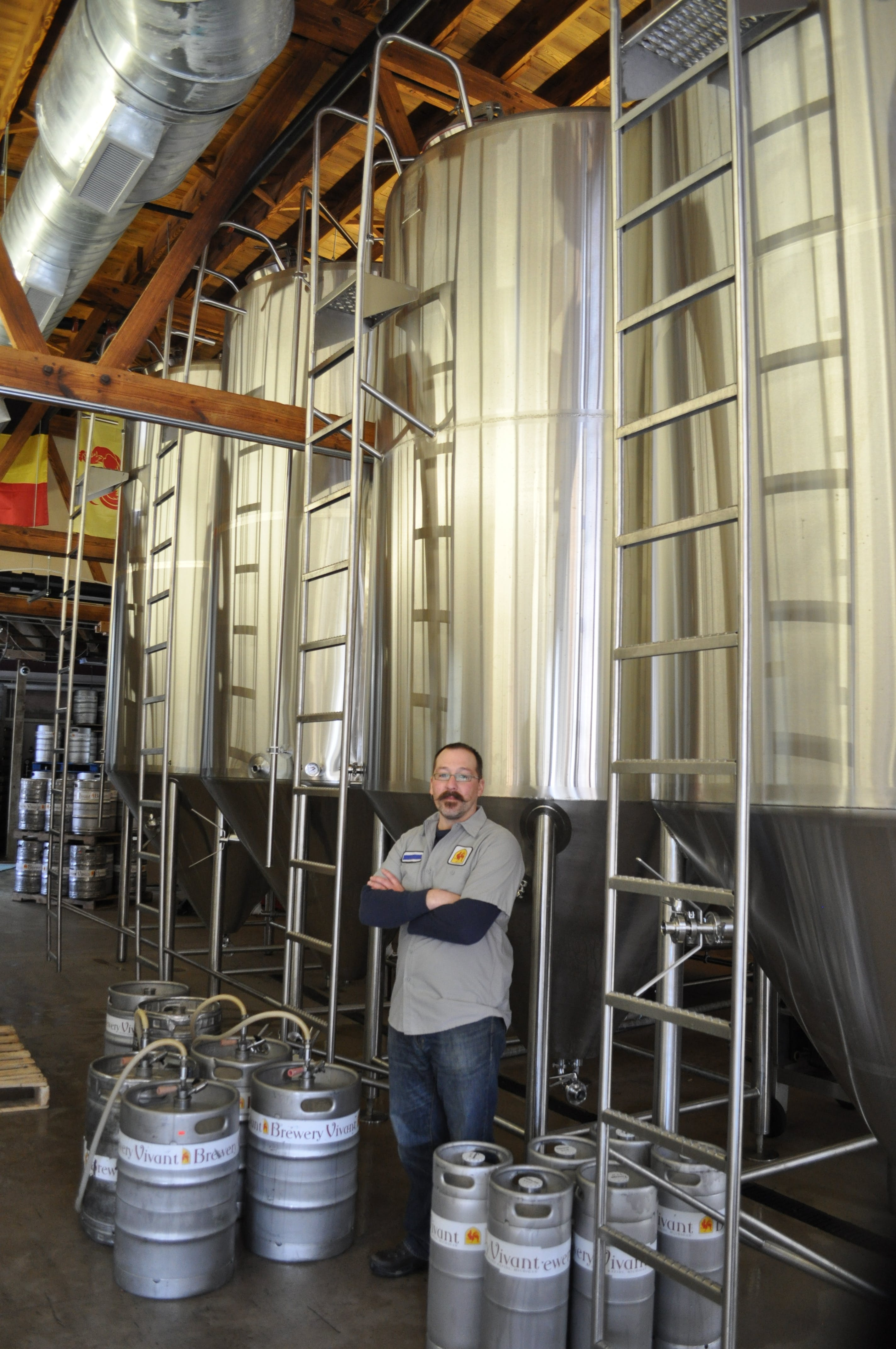 20 BBL, 3 Vessel Brewhouse Brewhouse sold by W. M. Sprinkman