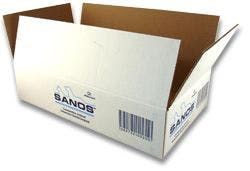 Regular Slotted Cartons - Corrugated Cardboard - 2 color Flexographic - sold by Cactus Corrugated Containers Inc.
