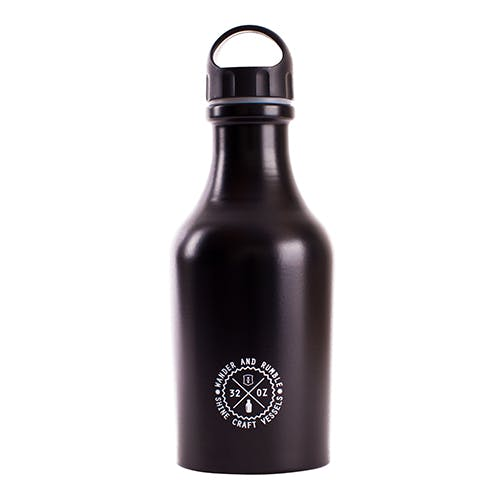 Shine Vessel Beer Growler 32oz Growler sold by Shine Craft Vessel Co.