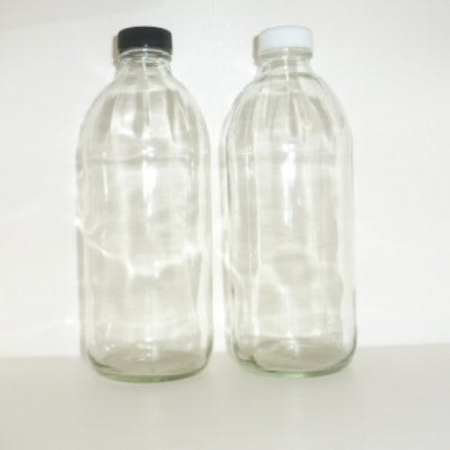 Vinegar juice glass bottles Glass bottle sold by Cape Bottle Company, Inc.