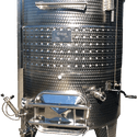 Variable Capacity / Sloped Bottom - Wine tank sold by Filter Process & Supply