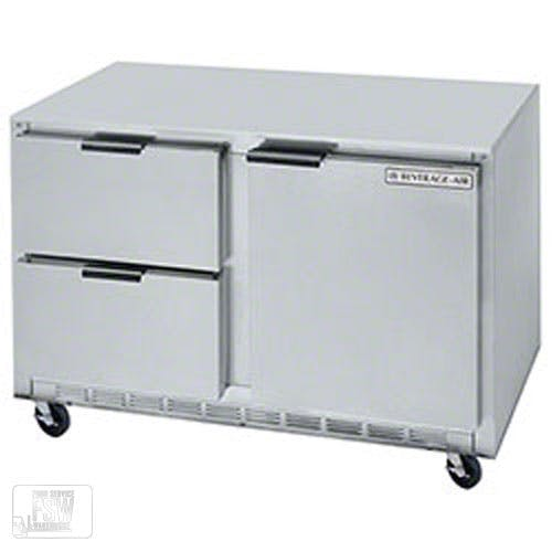 "Beverage Air - UCRD48A-2 48"" Undercounter Refrigerator w/ Drawers Commercial refrigerator sold by Food Service Warehouse"