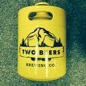 Branded Powder Coated Keg Growler. - Keg growler sold by Zymogear