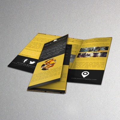 FLYER ON 100LB GLOSS BOOK W/ NO AQ - sold by Meilestone