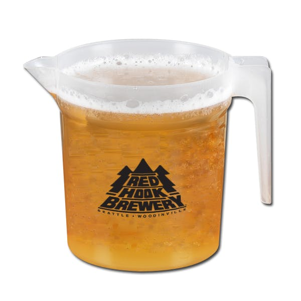 48 Oz. Plastic Stackable Pitcher Beer pitcher sold by MicrobrewMarketing.com