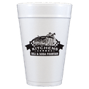 32 oz. Custom Disposable Foam Cups - Disposable cup sold by Cup of Arms