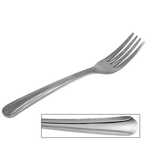 Walco Stainless Steel Flatware | 7405 Dominion Medium Weight Dinner Fork Flatware sold by Mission Restaurant Supply