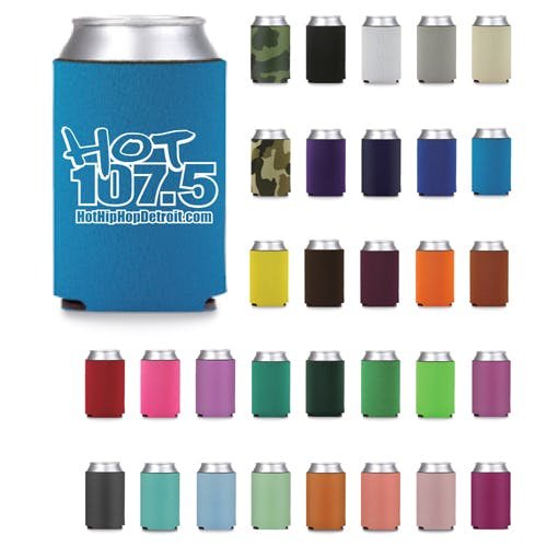 Pick your color and add your logo - Can Coolers - sold by Worldwide Ticket and Label