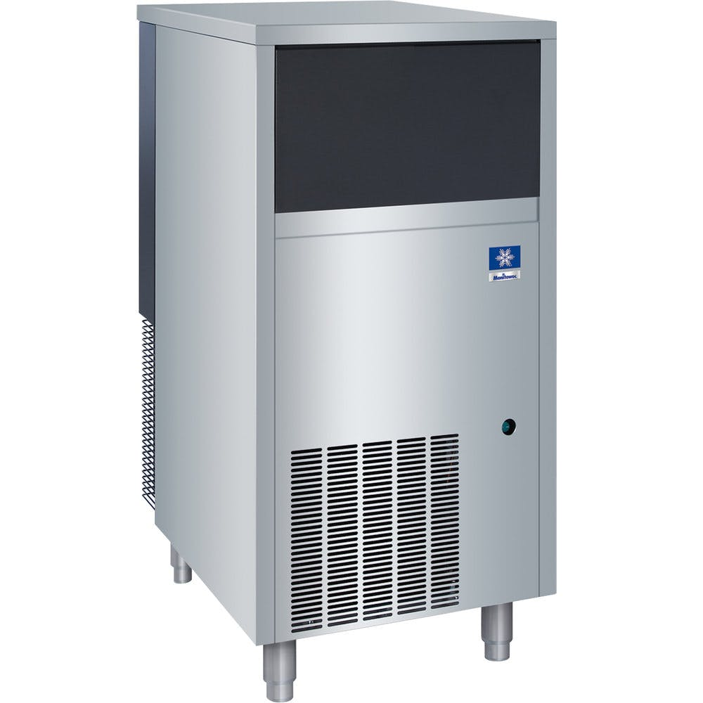 "Manitowoc RF-0266A 19 3/4"" Air Cooled Undercounter Flake Ice Machine with 60 lb. Bin - 181 lb. Ice machine sold by WebstaurantStore"