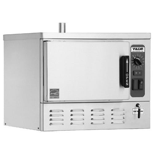 Vulcan C24EO3 Steamer, Boilerless/Connectionless, 3 Pan Capacity, Electric Commercial steamer sold by Mission Restaurant Supply