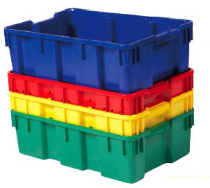 Solid Grape Harvest Container Plastic food tote sold by Union Jack