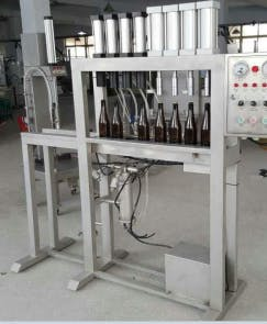 4 & 6 Head Bottling Machines