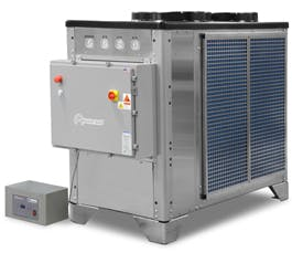 BCD-10A-N4 Glycol Chiller : 10 Horsepower Outdoor Unit Glycol chiller sold by Advantage Engineering