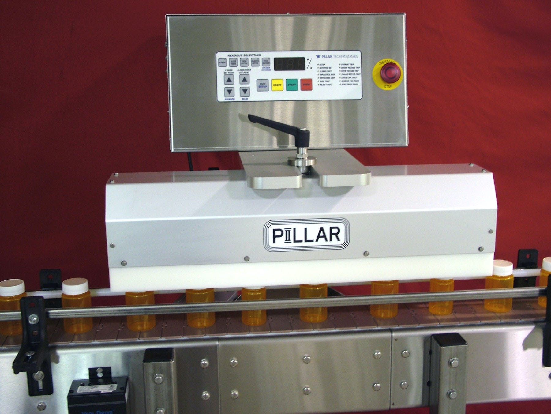 Unifoiler Induction sealer sold by Pillar Technologies