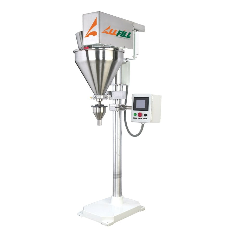 All-Fill Auger Filling Systems - Model B600 - Semi-Automatic