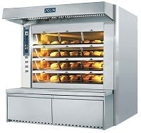 Steam Tube Deck Oven - TV Synt Steam Tube Deck Oven - sold by pro BAKE Inc.