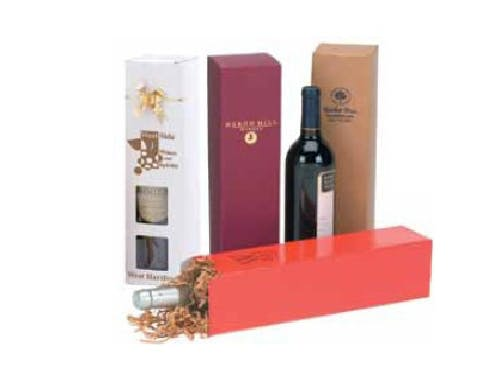 1 Piece Wine Bottle Box (Item # KGFMO-JBSXR) Wine box sold by InkEasy