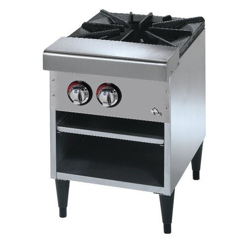 Star Manufacturing 601SPRF Star-Max Stock Pot Range 1 Burner Gas Commercial range sold by Mission Restaurant Supply