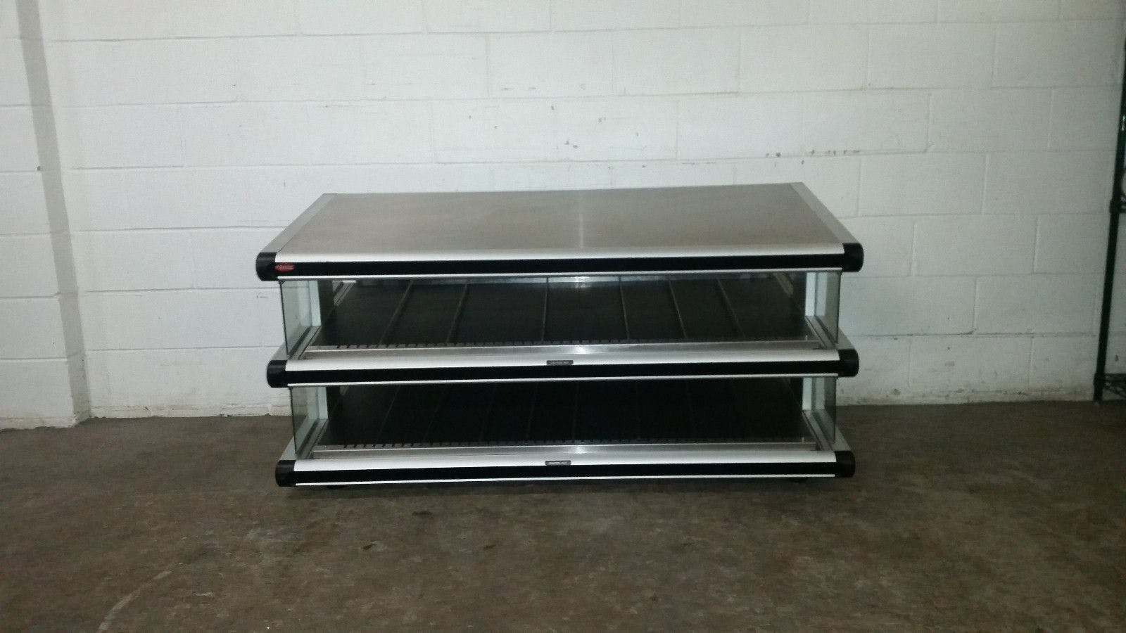 Hatco Heated Slant Warmer Display GR2SDS-54D Tested 120/208/240 Volt Lighted - sold by Jak's Restaurant Supply