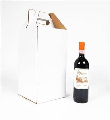 Four Bottle Wine Carrier Bottle carrier sold by SpiritedShipper