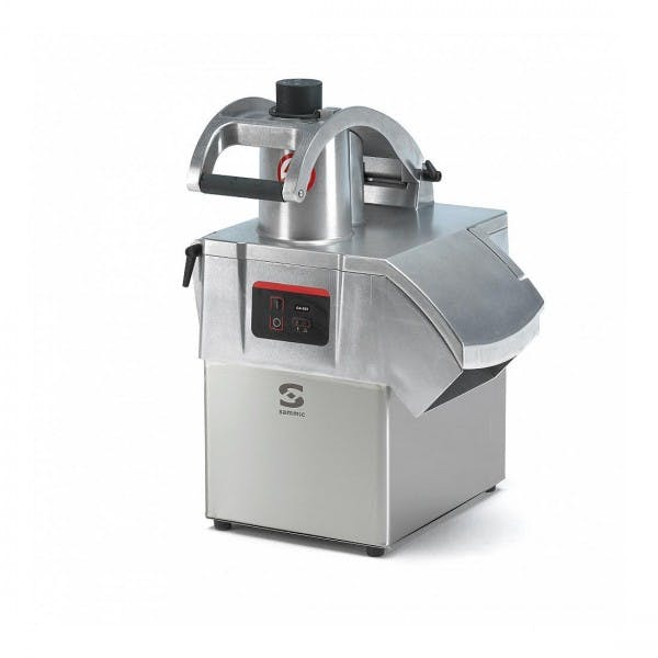 Stainless Commercial Food Processor w/ Hopper