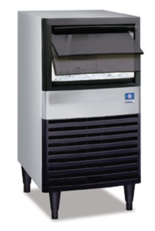 Manitowoc QM-30 Series Ice Maker with storage (65 lbs/24 hours) Ice machine sold by pizzaovens.com
