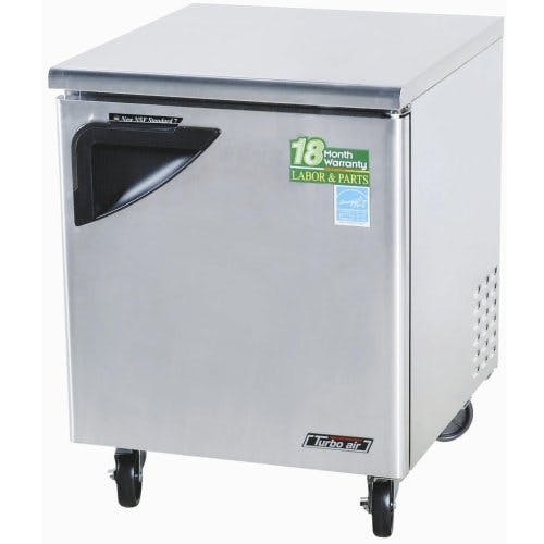 "Turbo Air ( TUF-28SD ) - 28"" Undercounter Freezer - Super Deluxe Series Commercial freezer sold by Food Service Warehouse"