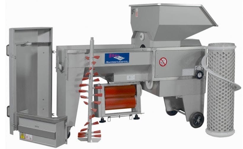 C.M.A.LUGANA 2R Grape crusher/destemmers Grape crusher/destemmer sold by Prospero Equipment Corp.