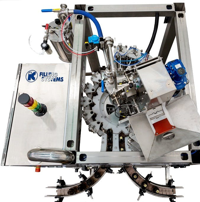 551 EPV MICROBLOCK - Automatic Rinser Filler Crowner for beer- 1000bph output - sold by IC Filling Systems