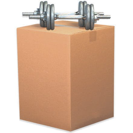 Heavy-Duty Kraft Double Wall Boxes Kraft packaging sold by Ameripak, Inc.