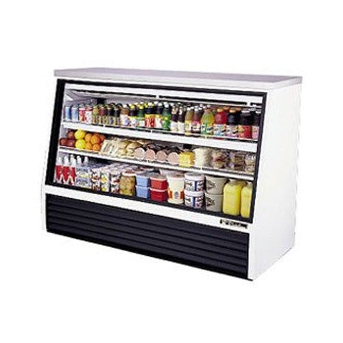 True Manufacturing TSID-72-3 Deli Case Single Duty 3 Door, 24 Cu. Ft. Food display case sold by Mission Restaurant Supply