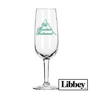 6.25oz Citation Flute Wine glass sold by Atlantic Custom Solutions