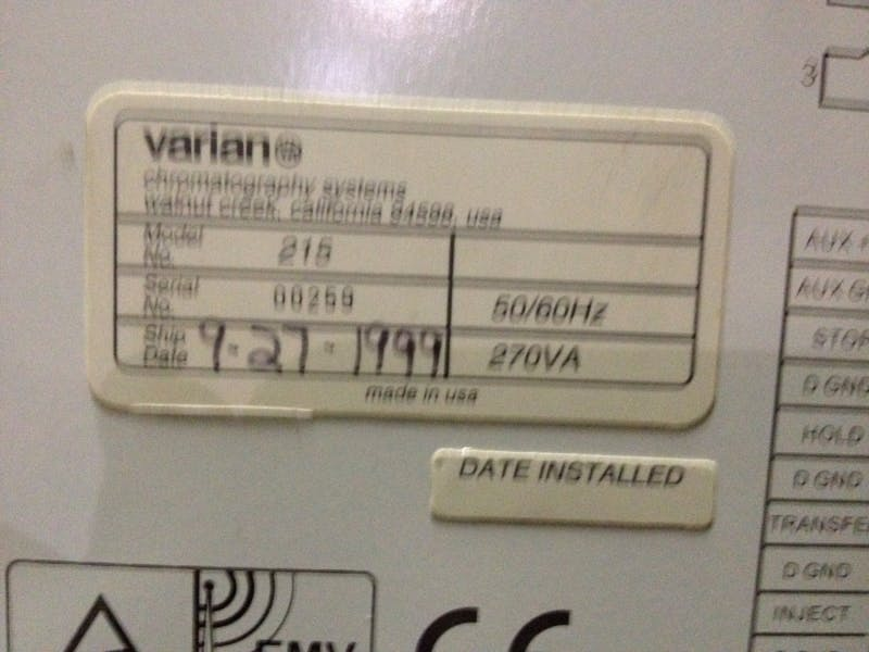 VARIANT PS215 Solvent Delivery Module (Used) - sold by Aevos Equipment