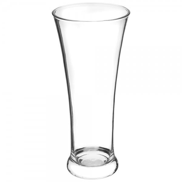 15 oz. Clear Polycarbonate Pilsner Glass